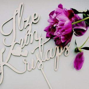 Personalizēti dekori kāzām